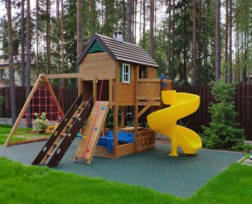Бетонирование детских площадок